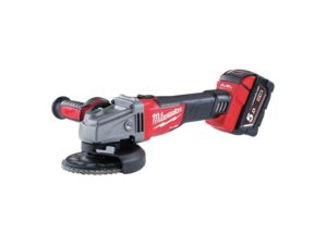 Aku úhlová bruska 125 mm Milwaukee M18 CAG125X-502X (5,0 Ah).