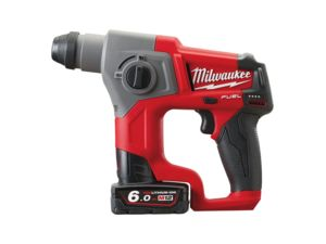 Aku kladivo Milwaukee M12 CH-602X, SDS-Plus (6,0 Ah)