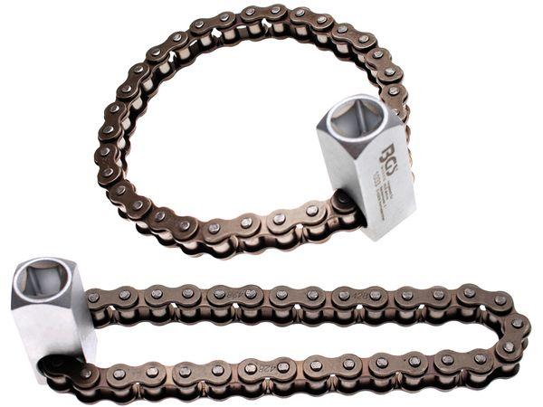 Klíč na olejové filtry průměr 65 ÷ 115 mm BGS101033 řetězový. Těžké provedení