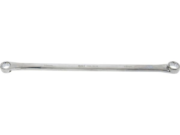 Oboustranný očkový klíč 16 x 18 mm BGS101186-16x18, prodloužený