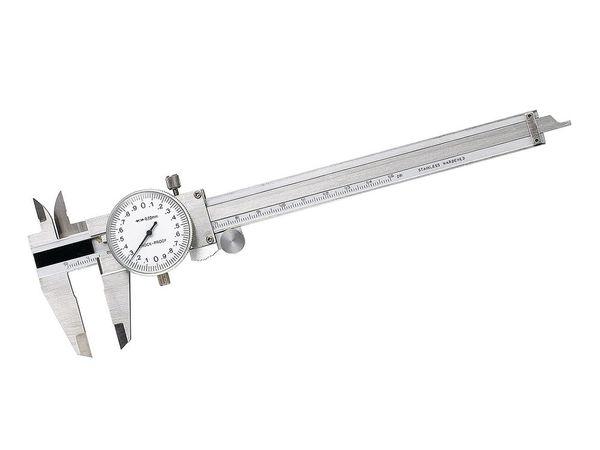 Posuvné měřítko 150 mm / 0,02 mm s číselným úchylkoměrem