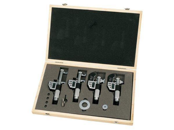 Digitální vnitřní mikrometry 5 ÷ 100 mm / 0,001 mm. Sada 4 ks