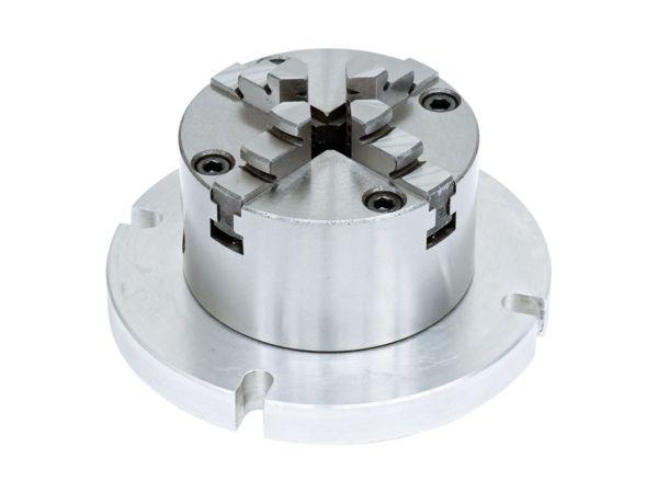 4-čelisťové sklíčidlo Bernardo pr. 80 mm s přírubou 125 mm