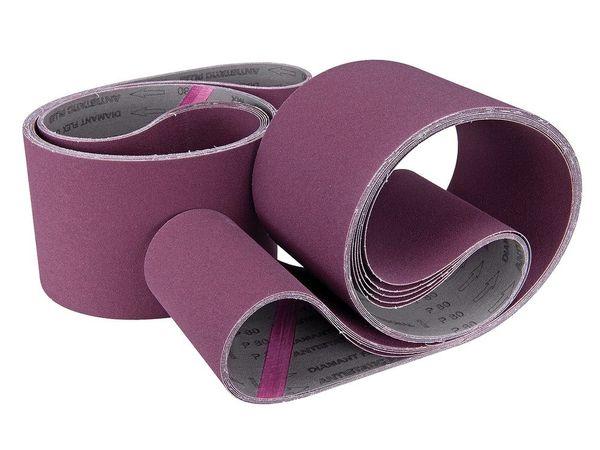 Brusný pás (textilní) 75 x 762 mm - drsnost 80 (10 ks) (brusná koncovka SA 1)