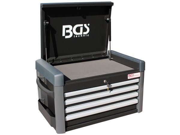 Box na nářadí BGS104112, 4 zásuvky. Nástavba k vozíku PROFI BGS 104111