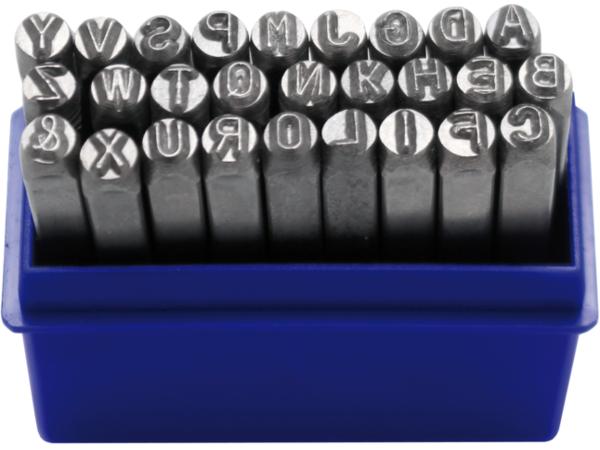 Razící matrice Abeceda 4,0 mm BGS102031