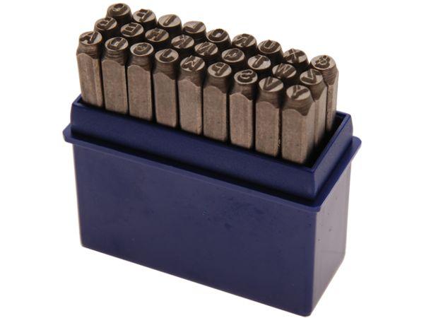 Razící matrice Abeceda 8,0 mm BGS102034