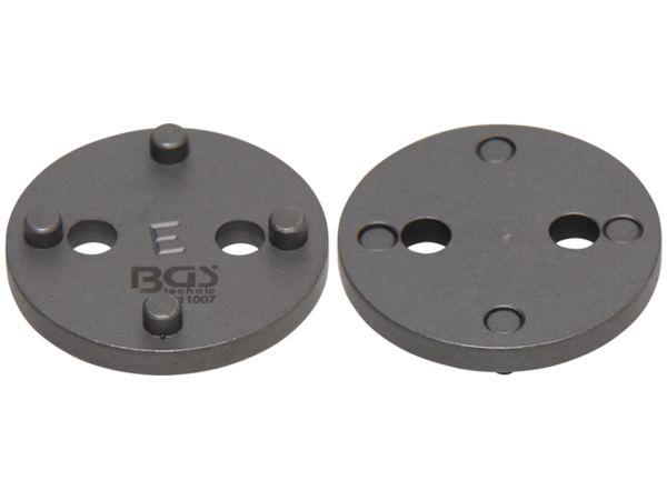 Adaptér E BGS1011007 pro stlačování brzdových pístů Ford, Nissan (Sada BGS 101119)