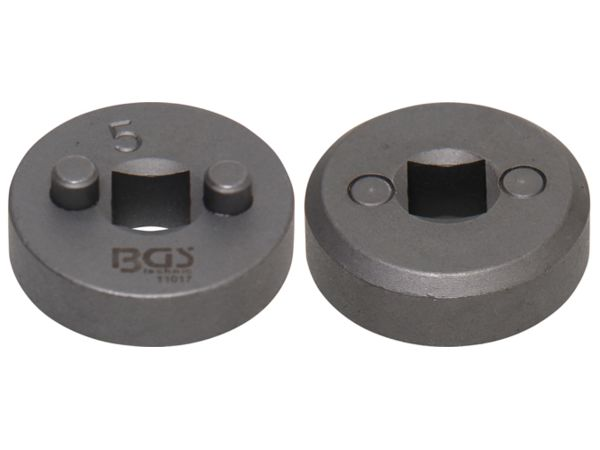 "Adaptér 5 BGS1011017 pro stlačování brzdových pístů - adaptér 10 mm (3/8"") (Sada BGS 101119)"
