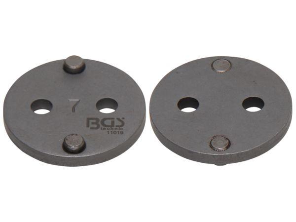 Adaptér 7 BGS1011019 pro stlačování brzdových pístů Alfa Romeo, Audi, Citroen (Sada BGS 101119)