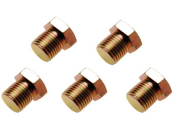 Zátka výpustě M15 x 1,5 mm BGS100126-SM15, 5 ks (Sada BGS 126)