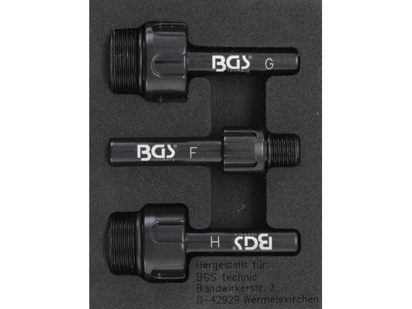 Adaptéry BGS109990 pro plnící přípravek oleje BGS 8056, 9991