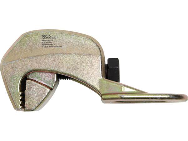 Hák pro vytažení karoserie 90°, 40 mm BGS102907, 1 oko, max. 2 t