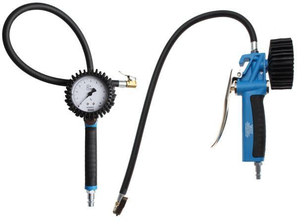 Merač tlaku pneumatík - pneumerač 0 ÷ 10 Barů BGS1055410. Ciachovaný