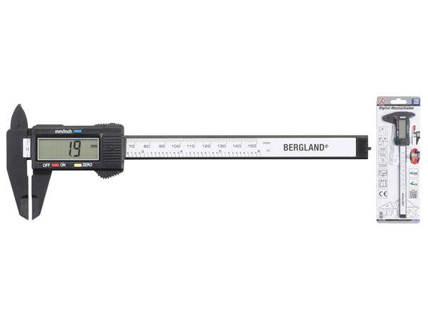 Digitální posuvné měřítko 150 mm BGS1091931