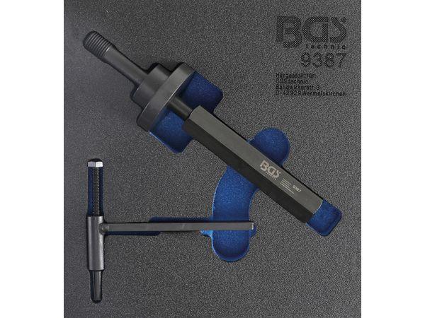 Demontážní přípravek na řetězová kola BGS109387 Pro čerpadla Ford 1,8 TDdi/TDCi