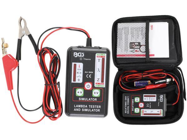 Tester a simulátor lambda sondy BGS109454