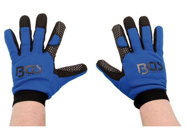 Pracovní rukavice s prostiskluzovou vrstvou BGS109949, velikost M