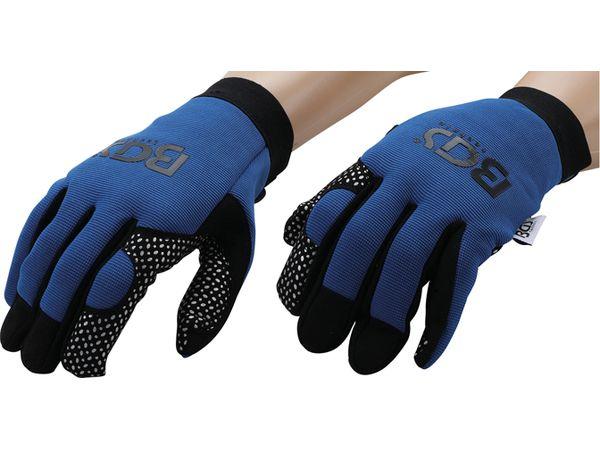 Pracovní rukavice s prostiskluzovou vrstvou BGS109951, velikost XL