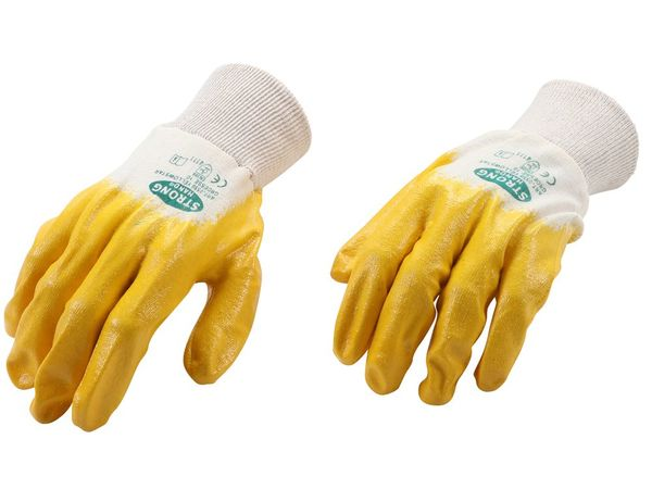 Pracovní rukavice Kraftmann - nitrilové BGS109961, velikost L (10)