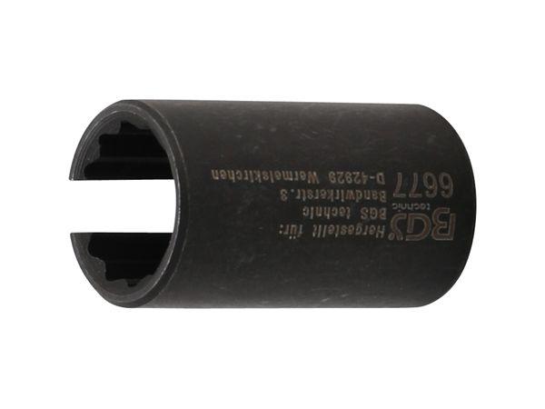 """Nástrčná hlavice 1/2"""" dvanáctihran 15 mm BGS106677 Pro teplotní čidlo hlavy válce Ford"""