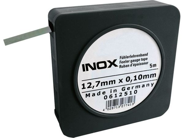 Spárová měrka 0,01 mm INOX FORMAT v pásu